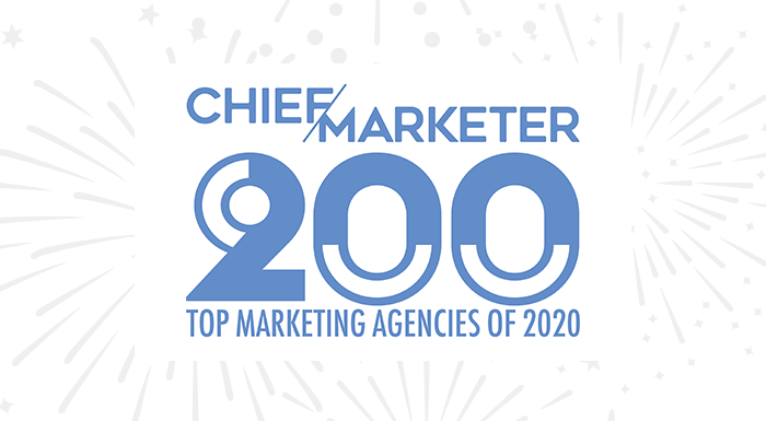 Chief Marketer top marketing agencies of 2020