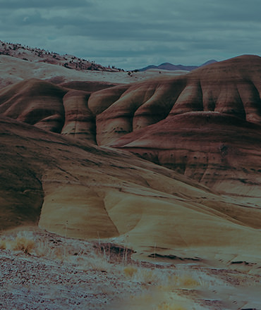 image of the painted hills in oregon