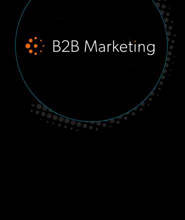 B2B marketing logo image