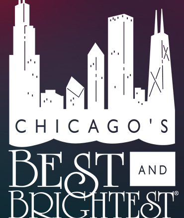 Chicago's best and brightest companies to work for logo